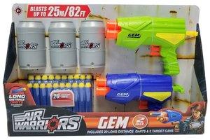 Air Warriors - 2X Gem met 3 blikken en  20 LD darts