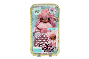 MGA Entertainment Na! Na! Na! Surprise 2-in-1 Pom Doll Glam Series - Cali Grizzly