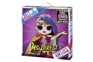 MGA Entertainment L.O.L. Surprise! OMG Movie Magic Doll- Ms. Direct
