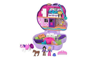 Polly Pocket Polly Pocket Big Pocket World - Jumpin' Style Pony Compact