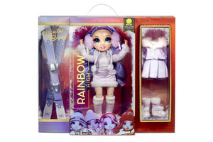 MGA Entertainment Rainbow High Winter Break Fashion Doll - Violet Willow