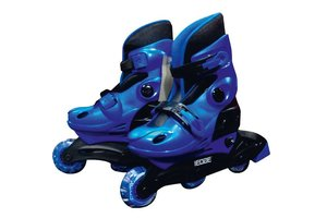 Edge Inline Skates blauw maat 34-37