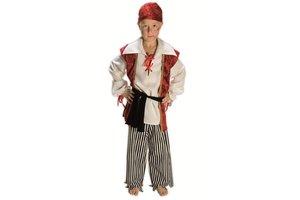 Kostuum Zeerover met Hoofddoek