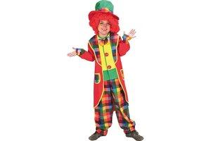 Kostuum Clown Appie met Hoed