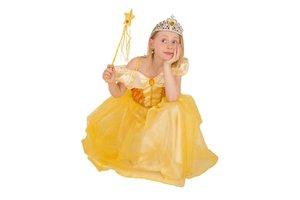 Kostuum Prinses (geel)