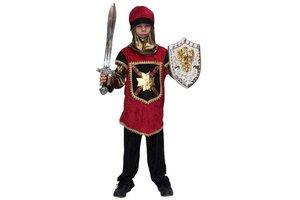 Kostuum Ridder Lance met kap