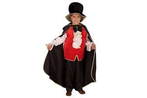 Kostuum Dracula met hoed