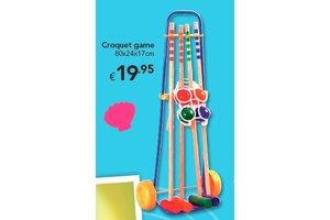 Croquet spel 4 spelers
