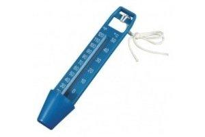 Blue Ocean Thermometer blauw 25 cm