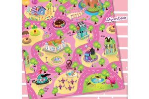 Speelmat 100x120cm Candy Land