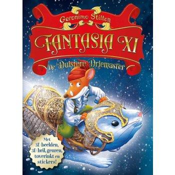 Boek Geronimo Stilton - Fantasia XI - De Duistere Driemaster