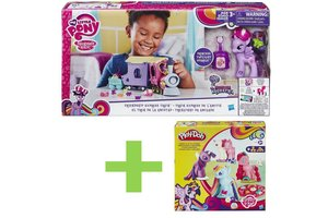 My Little Pony Bundelpack Express trein + Play-Doh set