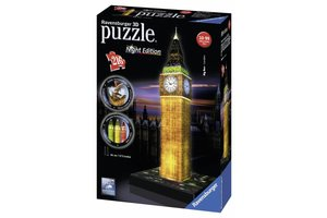 Ravensburger 3D Puzzel Big Ben Night Edition