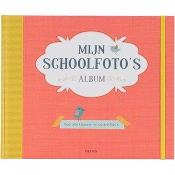 Deltas Mijn schoolfoto's album (rood)