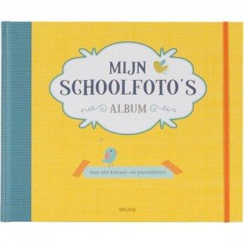 Deltas Deltas Mijn schoolfoto's album (geel)