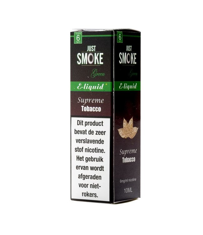 Just Smoke Green Supreme Tobacco E-liquid