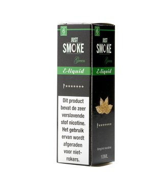 Just Smoke Green P7 Stars Tobacco E-liquid