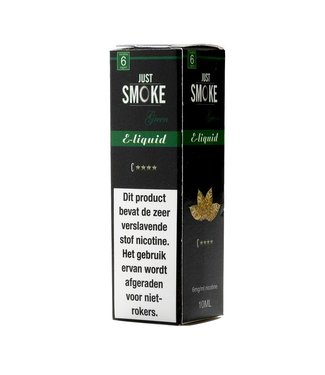 Just Smoke Green C4 Stars Tobacco E-liquid