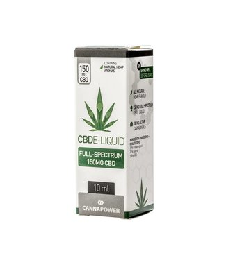 Cannapower Cannapower CBD E-Liquid 150mg Natural Hemp