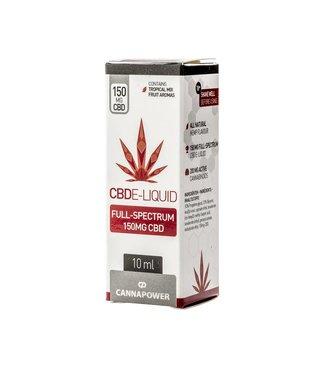 Cannapower Cannapower CBD E-Liquid 150mg Tropical Fruit