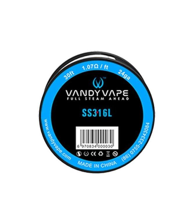 Vandyvape Vandyvape Wire Stainless Steel 316L