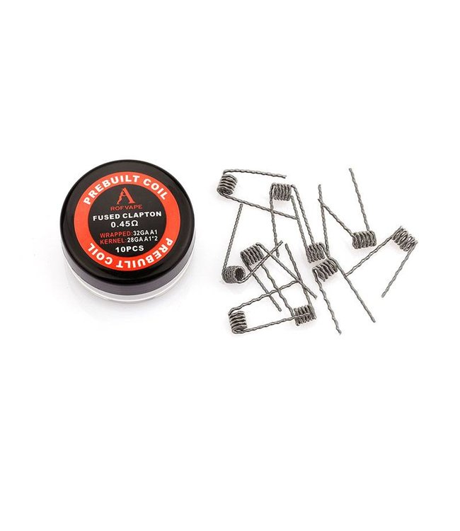 Rofvape Pre-Made Fused Clapton Coils