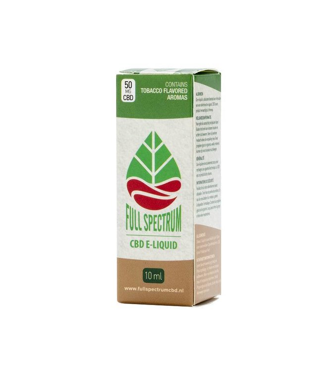 Fullspectrum CBD E-Liquid 50mg Tabak