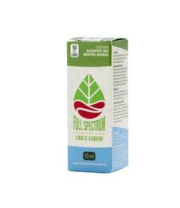 Fullspectrum CBD E-Liquid 50mg Bosbes menthol