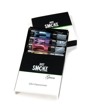 Just Smoke Green JSG CE4 Clearomizer (5-PACK)