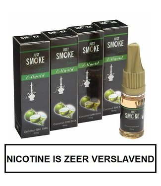 Just Smoke Green Coconut Shisha E-liquid