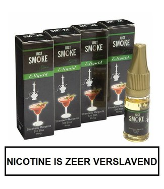 Just Smoke Green Strawberry Margarita Shisha E-liquid
