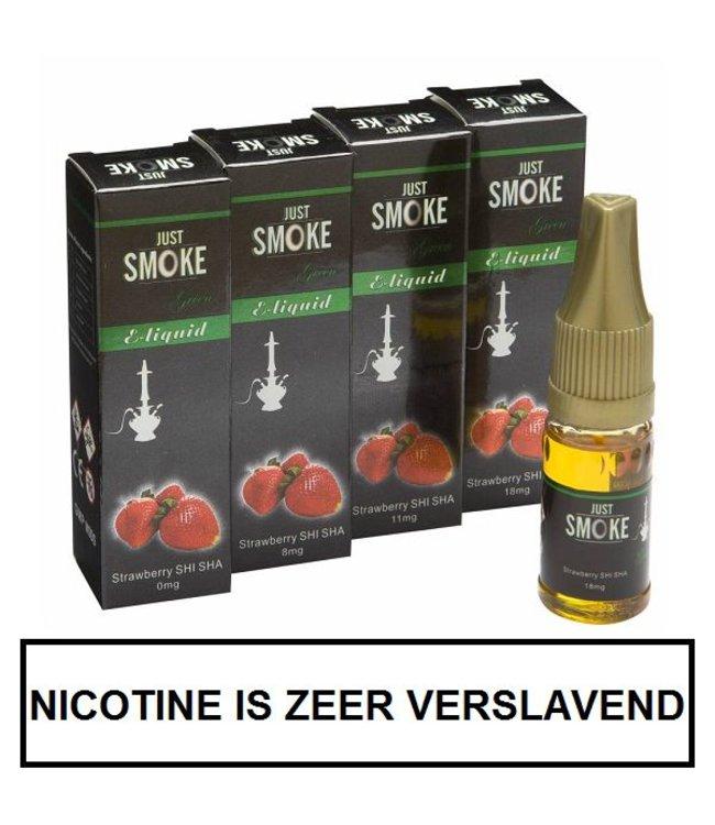 Just Smoke Green Strawberry Shisha E-liquid