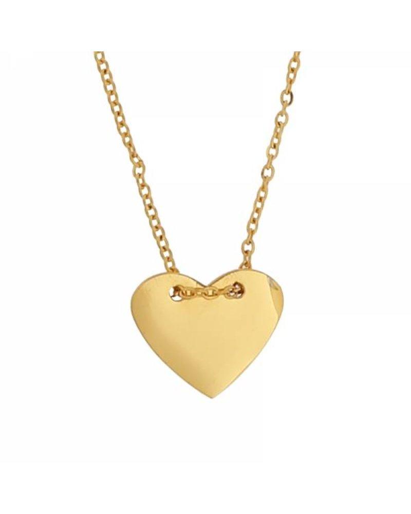 FOLLOW YOUR HEART - GOLD