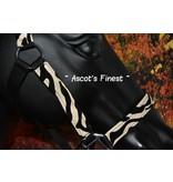 Ascot's Finest Zebra halster - Maat Shet tot XFull