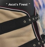 Ascot's Finest Bordeaux rode en crème deken - 195 cm