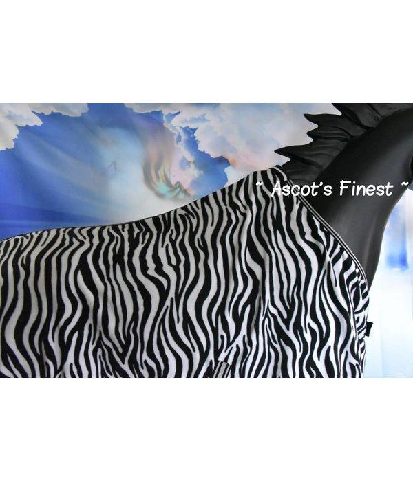 Ascot's Finest Zebra fleece deken - 195 cm