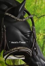 Ascot's Finest Shetlander rundlederen hoofdstel
