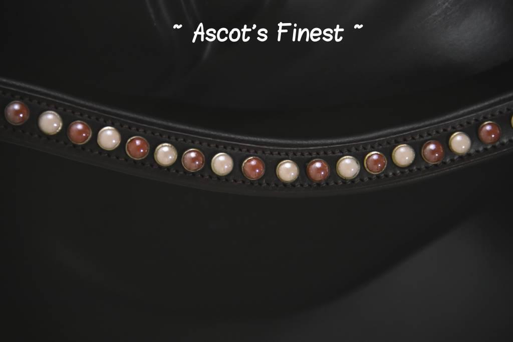Ascot's Finest Havanna bruin met parels - 41,5 cm