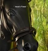 Ascot's Finest Havanna bruin met zilveren strass - Full