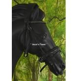 Ascot's Finest Rondgenaaid zwart rundleer - Full