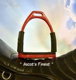 Ascot's Finest Rode veiligheids stijgbeugels