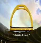 Ascot's Finest Okergele stijgbeugels