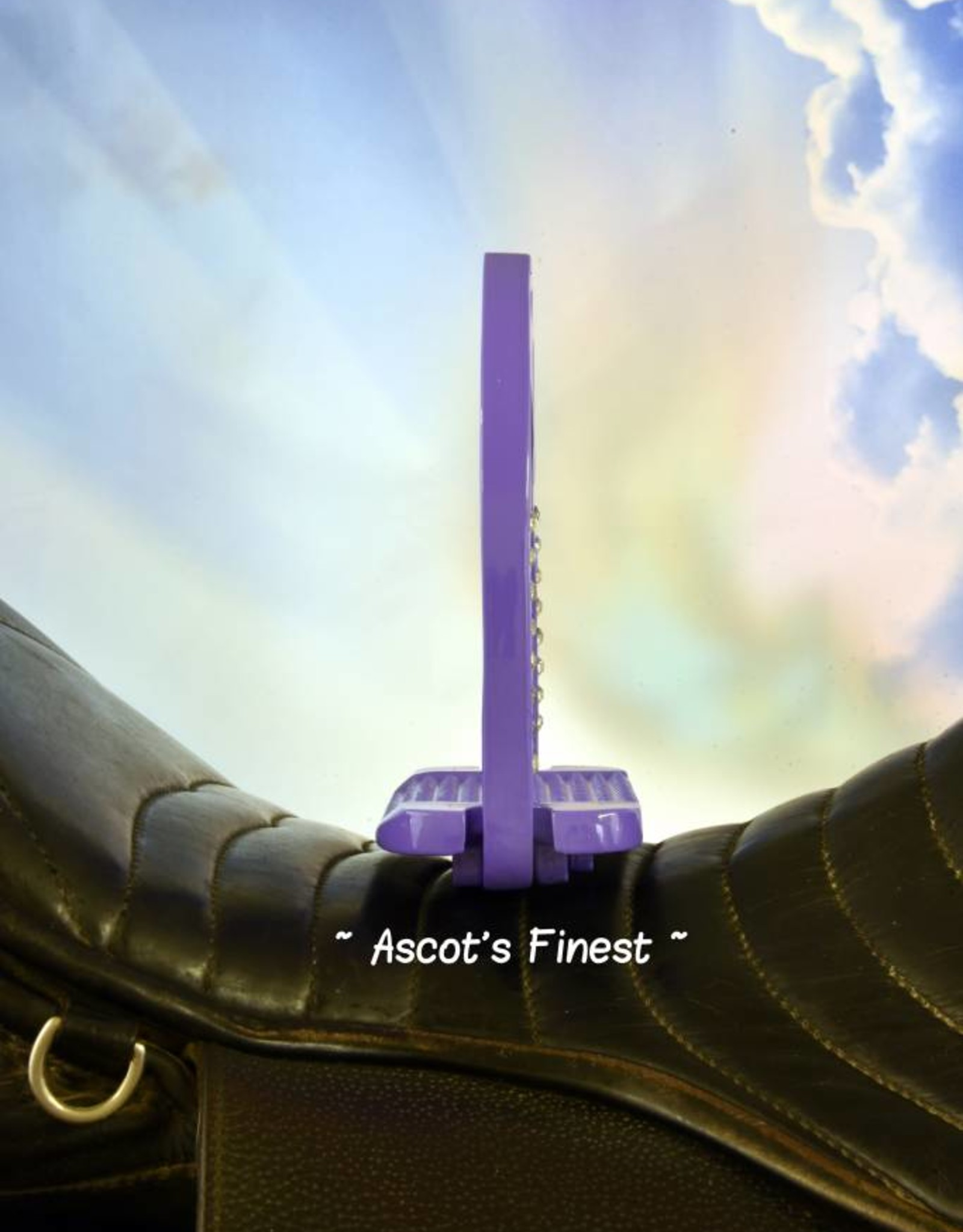 Ascot's Finest Lichtpaarse brede stijgbeugels