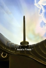 Ascot's Finest Mat zwarte stijgbeugels