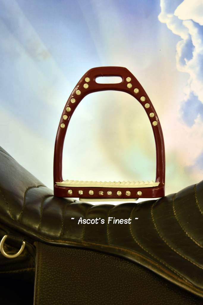 Ascot's Finest Bordeaux rode stijgbeugels