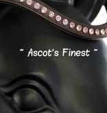 Ascot's Finest Havanna bruin met roze Swarovski - 41 cm - Full