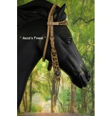 Ascot's Finest Western Headstall Jaguar - Pony, Cob en Full