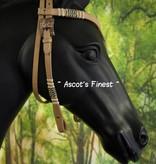 Ascot's Finest Western Hoofdstel - Met V-frontriem - Full, Cob en Pony
