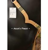 Ascot's Finest Western Borsttuig met rundleer