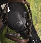 Ascot's Finest Havanna brown English bridle - large Pony/small Cob